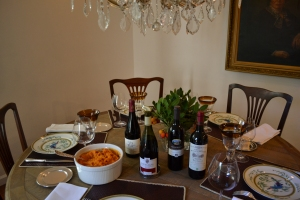 Thanksgiving organic wine